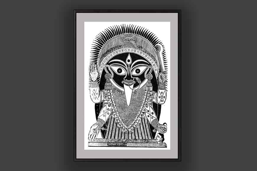 Kali in the eyes of Bengal's artists