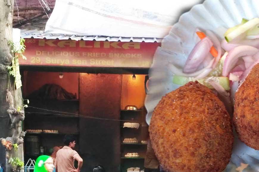 Iconic 'Kalikar Chop er Dokan' that still sells prawn chop at just Rs 10!