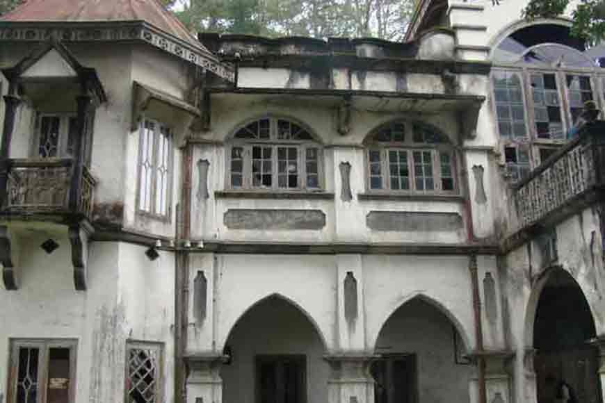 The house that Tagore built in the Hills