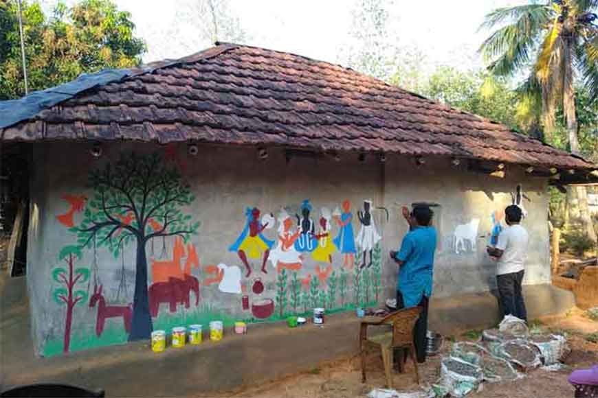 Chalchitra Academy's artistic initiative at Jhargram's Khwaabgaon