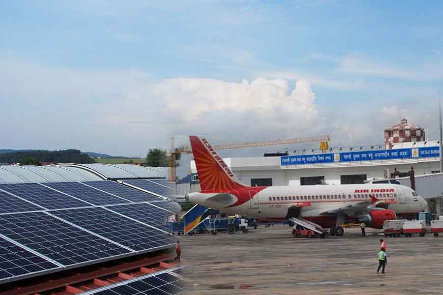 Solar plant at Kolkata airport first of its kind in India