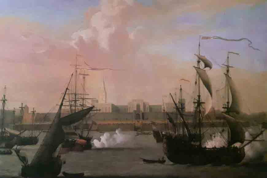 Earliest sketches of Kolkata by British landscape artists