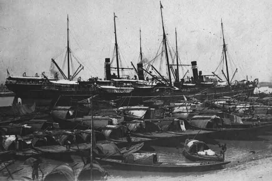 The oldest port of India, Kolkata Port
