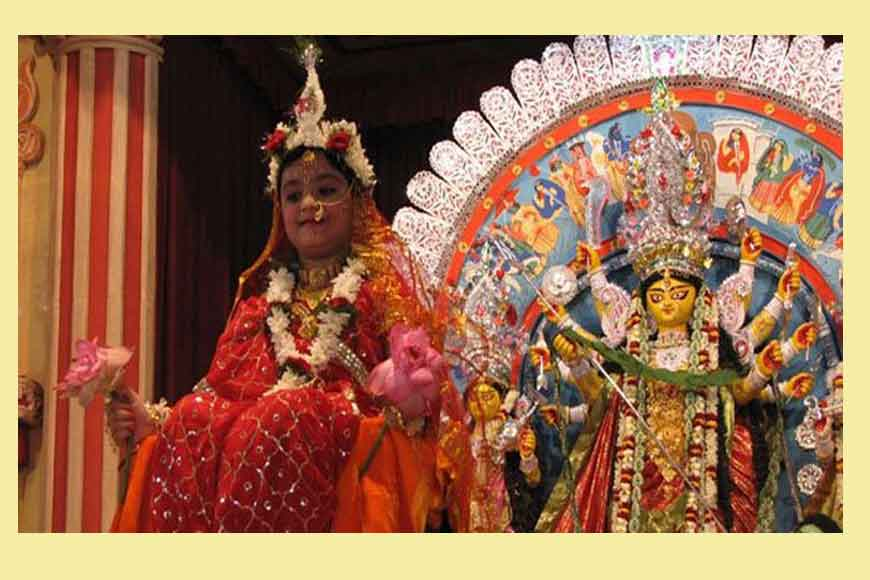 When Religion Unites: Dutta Bari worships Muslim girl as Maa Durga