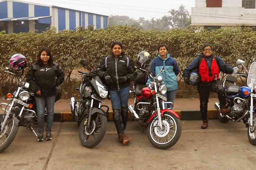 Did you know Kolkata has its own Lady Bikers' club?