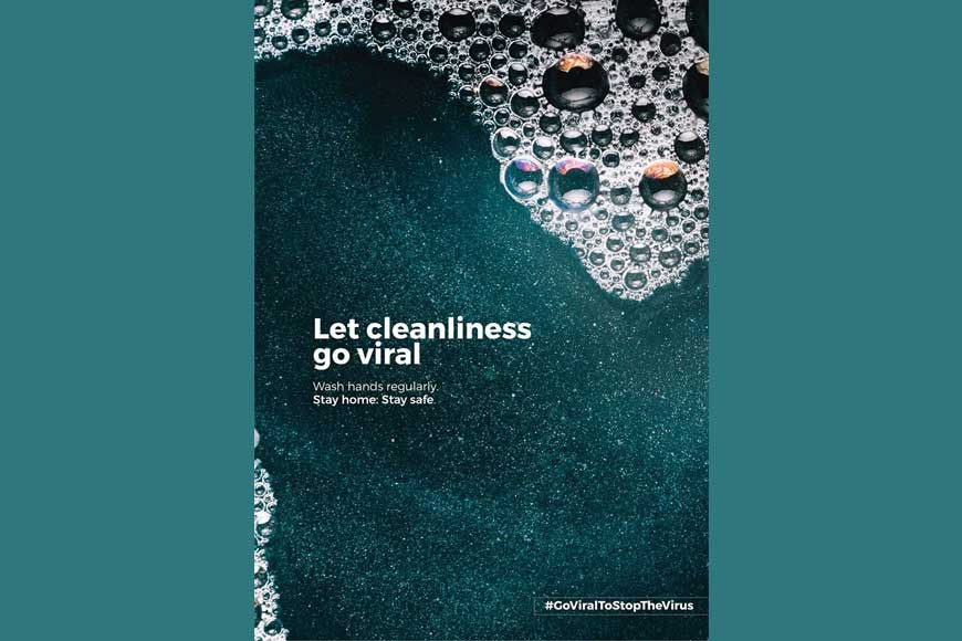 LET CLEANLINESS GO VIRAL