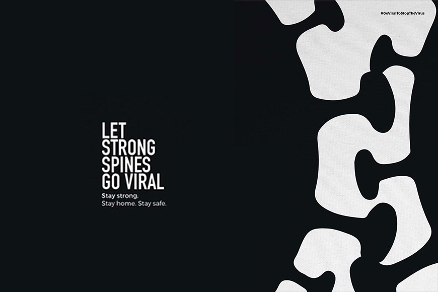 LET STRONG SPINES GO VIRAL