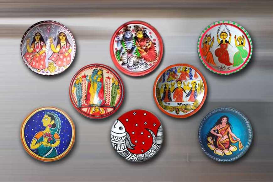 Bengal's Shora Painting --- bridging Hindu-Muslim divide