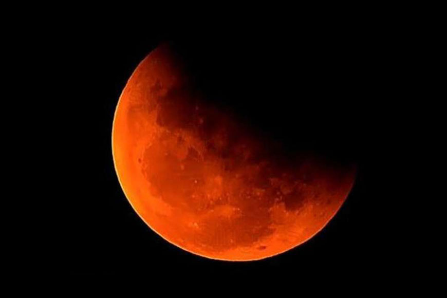 Do not miss the partial lunar eclipse over Kolkata today