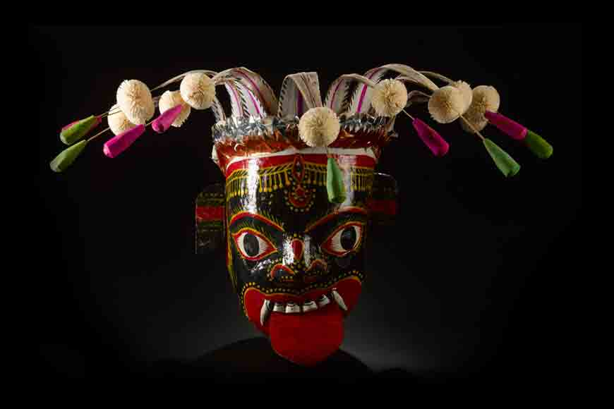 North Dinajpur still holds on to the tradition of masks