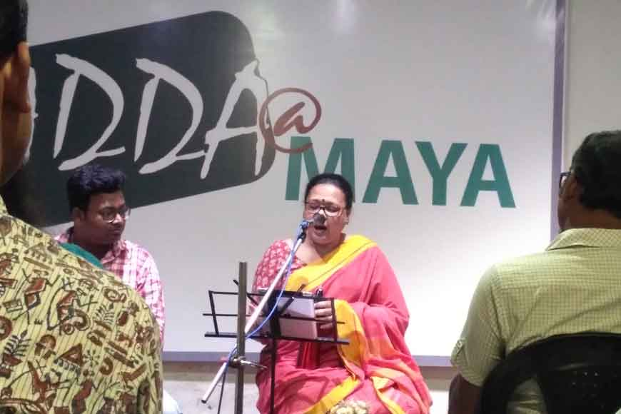 Lopamudra Mitra brings poetry and music at MAYA adda