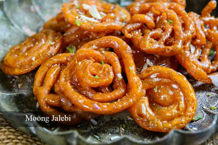 Choose between Moong Jalebi and Babarshah of Midnapore