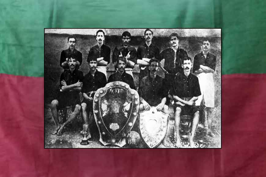 Today in 1911, Mohun Bagan first lifted IFA shield from hands of British
