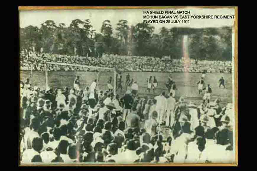Fight of immortal 11 of '1911' Mohun Bagan on celluloid