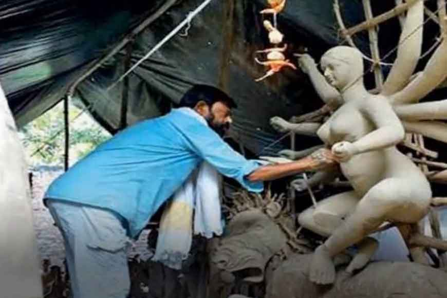 Muslim MLA crafts Maa Durga – sends message of religious unity