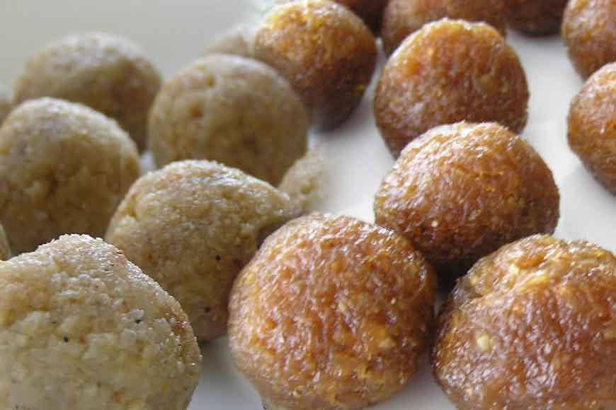 GB shares recipe of NarkelNarufor Bijoya Dashami
