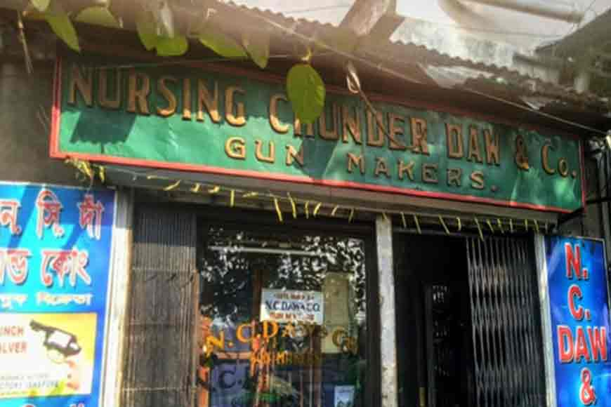 More than a century old gun shop of Kolkata that still sells firearms