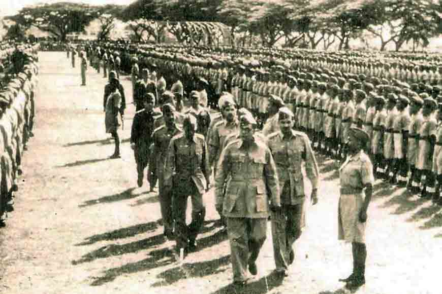 How did Subhash Chandra Bose bring communal harmony in INA