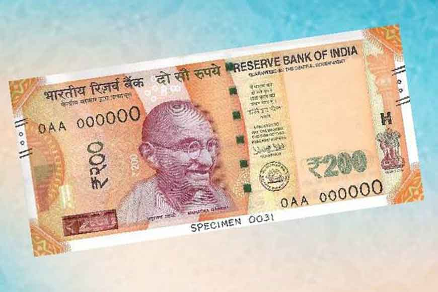New 200 rupee note hits the market today!