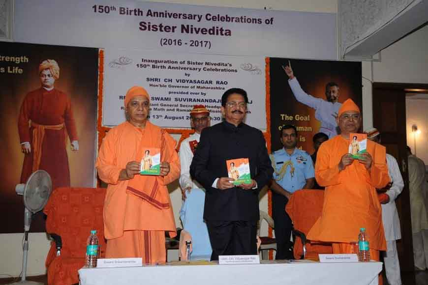 Sister Nivedita's letters released as a book