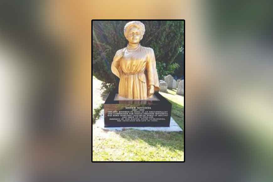 State-RKM joint initiative: Sister Nivedita's statue installed at UK cemetery