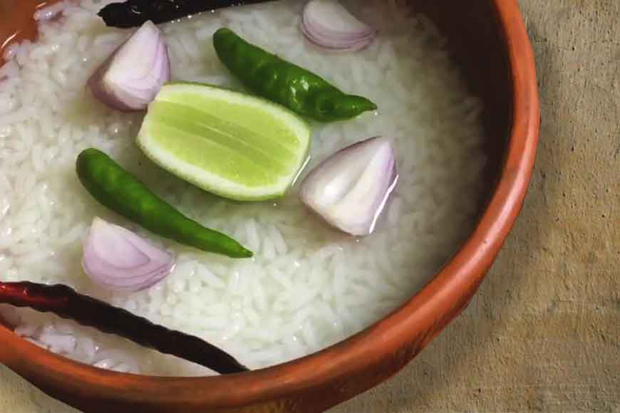 Cook up some Panta Bhaat with a dash of lime and onions this summer
