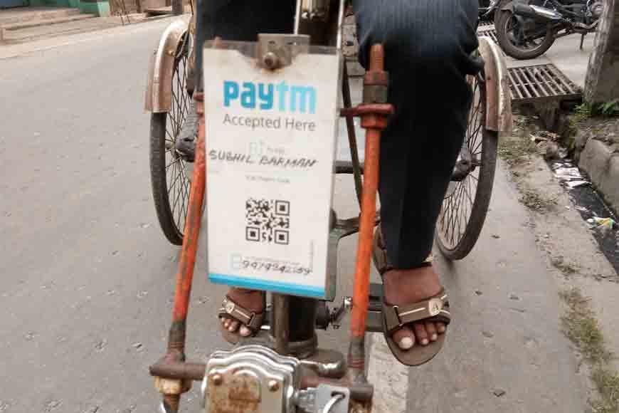 Siliguri rickshaw puller popularizes Paytm