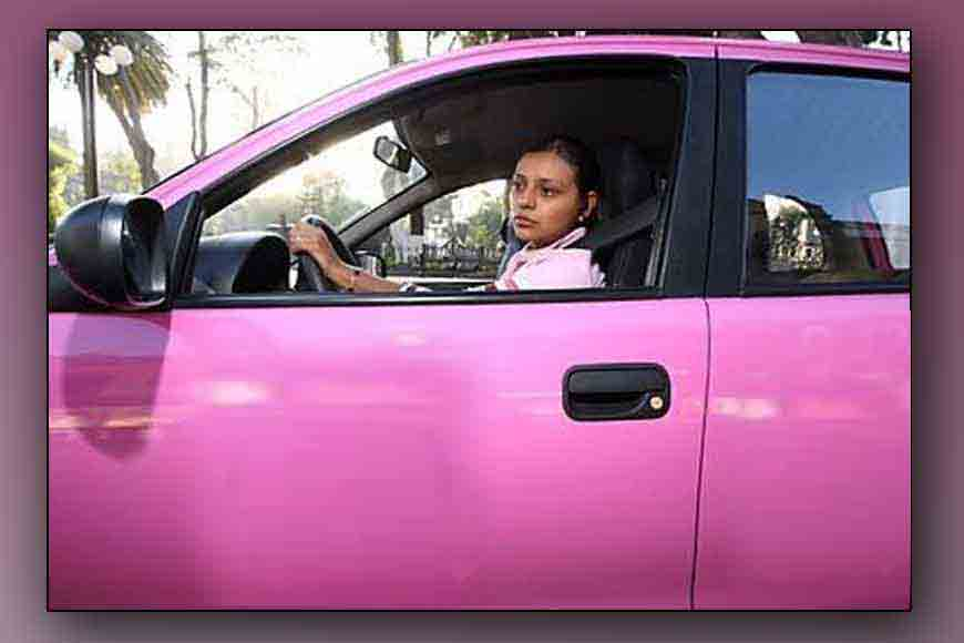 CM launches all-women pink cabs in Kolkata today