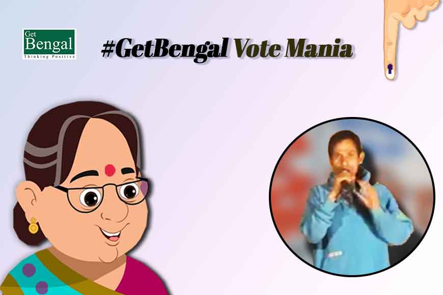 Horbola art of Bengal being used in poll campaigns