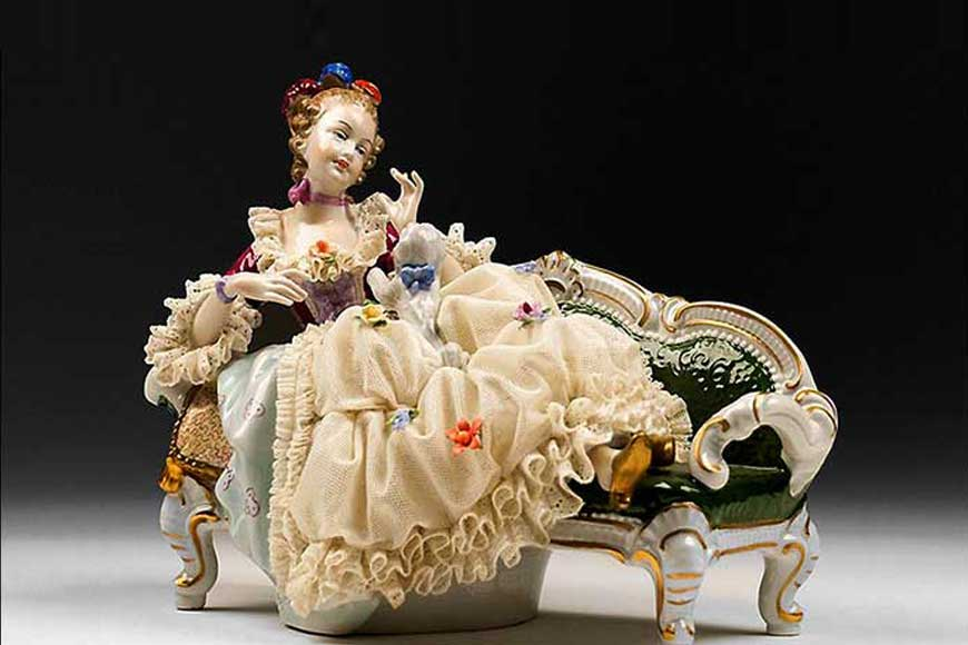 Bengal was the seat of ceramic industry and porcelain dolls during British era