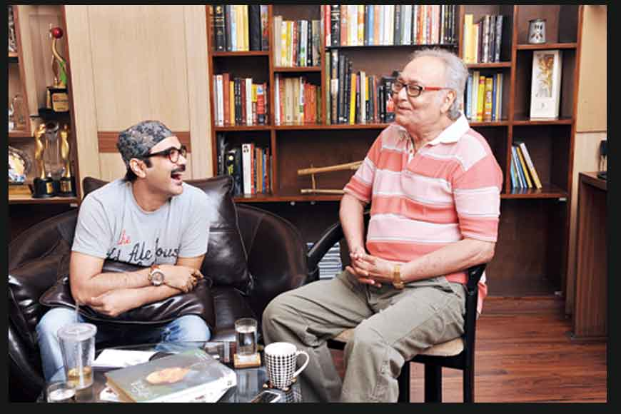 Soumitra and Prosenjit come together for a new film
