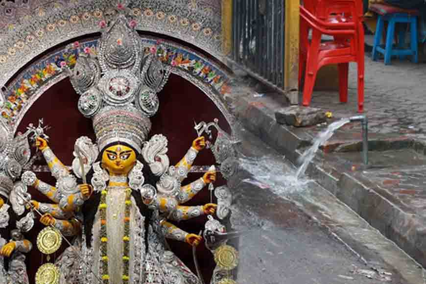 This Durga Puja, priests will take classes on water conservation