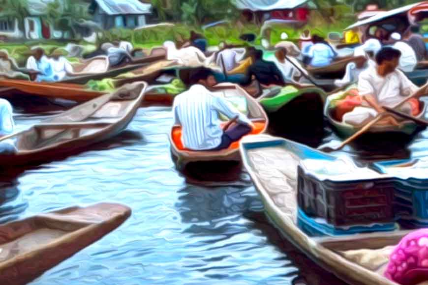 Now Purulia gets a floating market