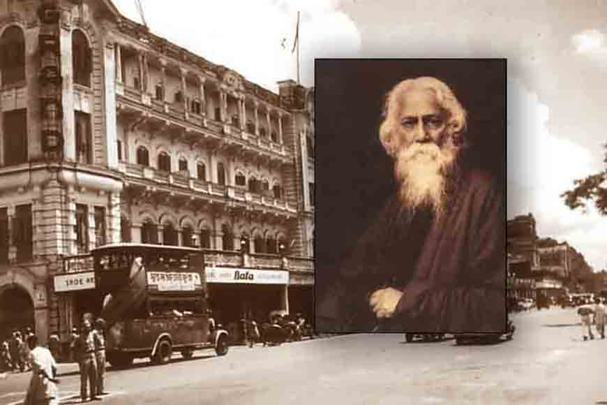 How is Kolkata's Grand Hotel linked to Tagore's play?
