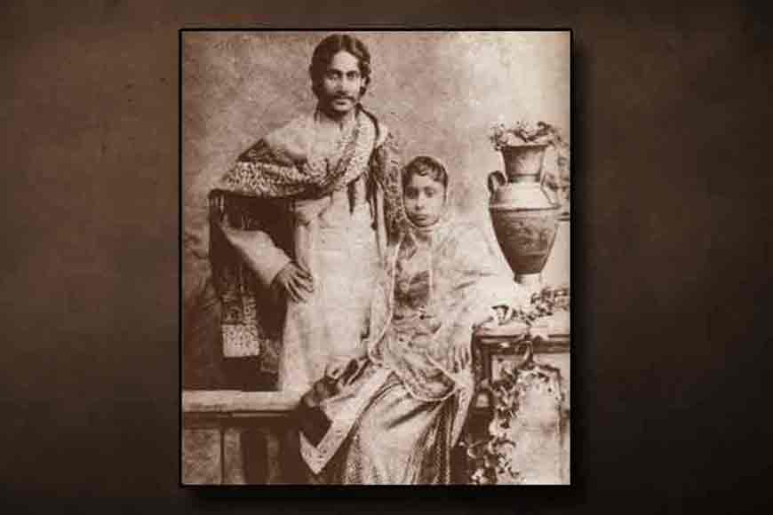 The poet who wrote and designed his own wedding card – Tagore at his best!