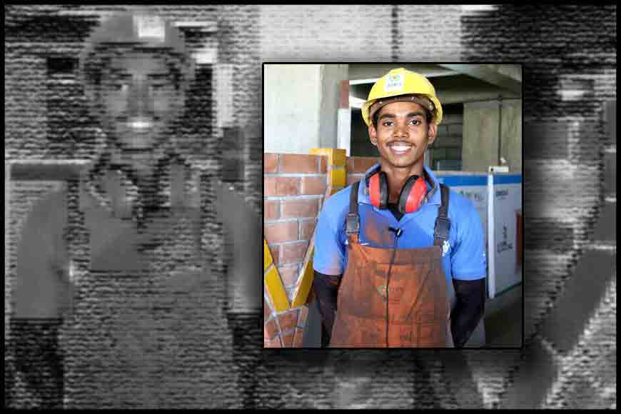 Malda's orphan Rohim wins international brick-laying competition