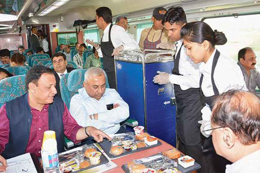 Meals on trains to cost more