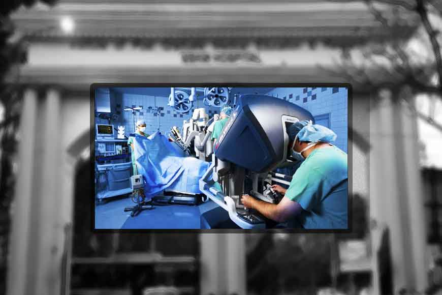 Super advanced Robotic Surgery to be introduced in SSKM