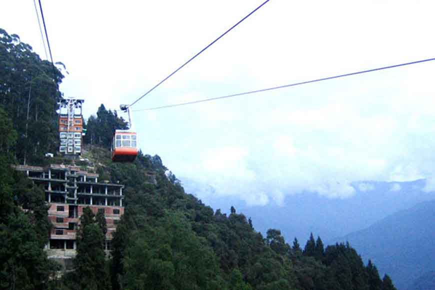 New ropeway to take you directly to Darjeeling