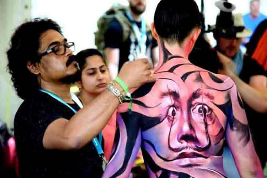 Sanatan Dinda Aces World Body Painting Fest