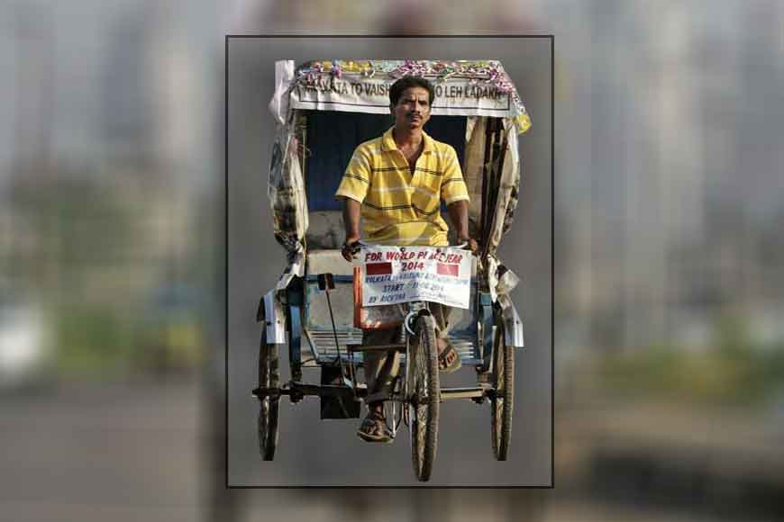 Rickshaw-puller from Bengal travels to Lahore to promote peace
