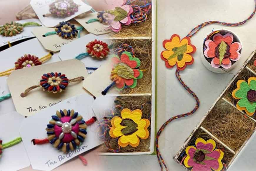 Eco-Friendly Seed Rakhis of Kolkata, turn your brothers eco-warriors!