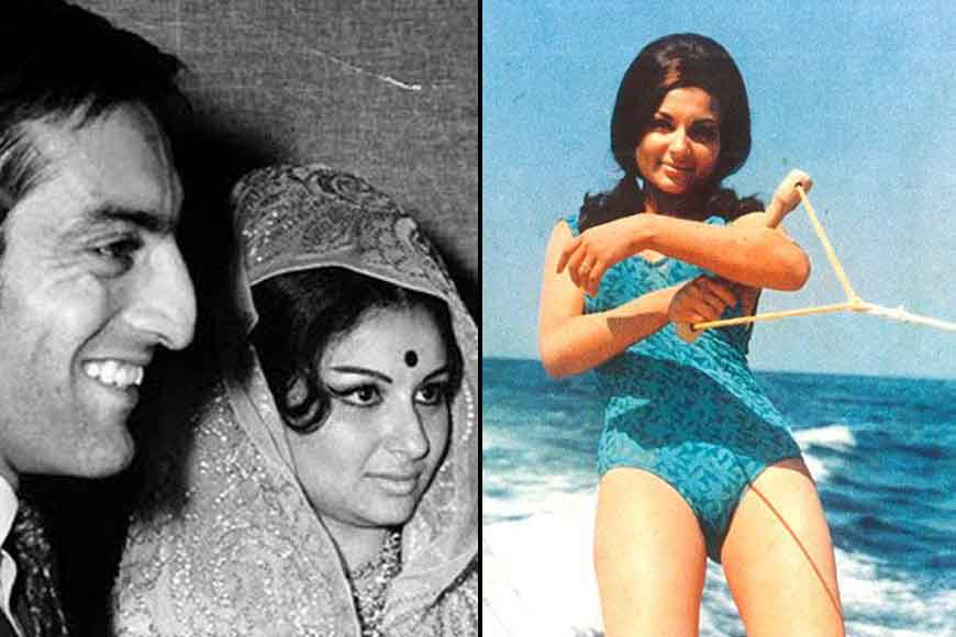 Why did Sharmila Tagore remove all posters of An Evening in Paris?