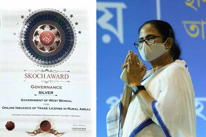 West Bengal Government recieves multiple SKOCH Awards
