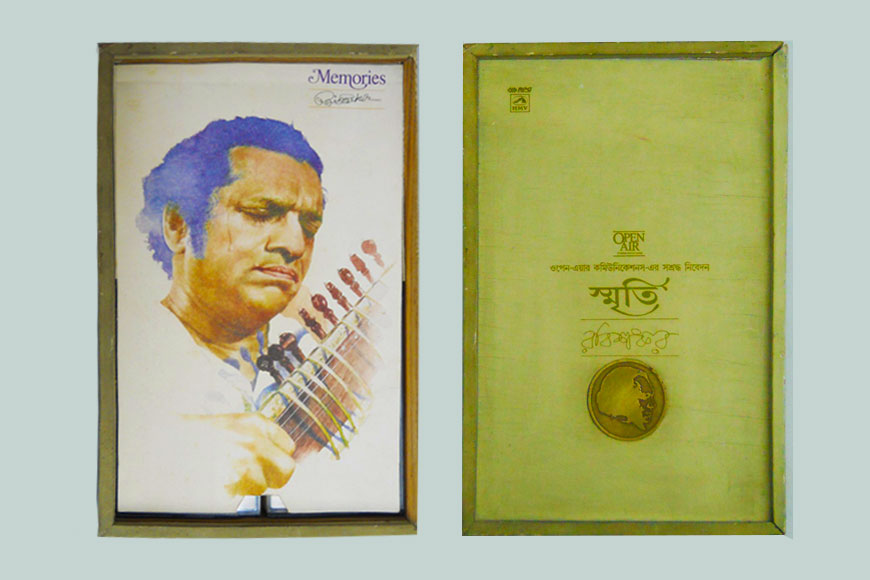 Did you know Pt Ravi Shankar sang a Bengali Film song?