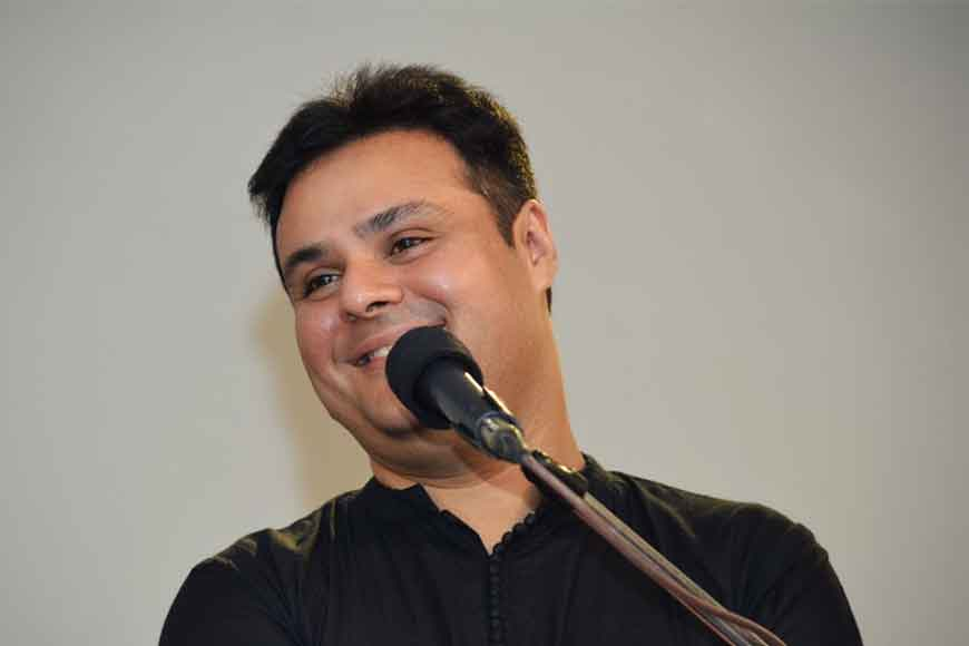 Actor Sujoy Prasad Chatterjee lends his soulful voice to Tagore's songs