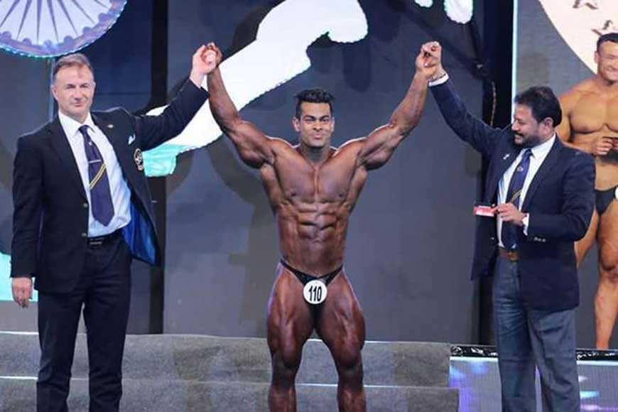 CONGRATS! Suman Das from Siliguri wins prestigious World Title in Bodybuilding