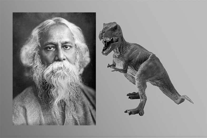 Did you know a Dinosaur fossil in India is named after Rabindranath Tagore?