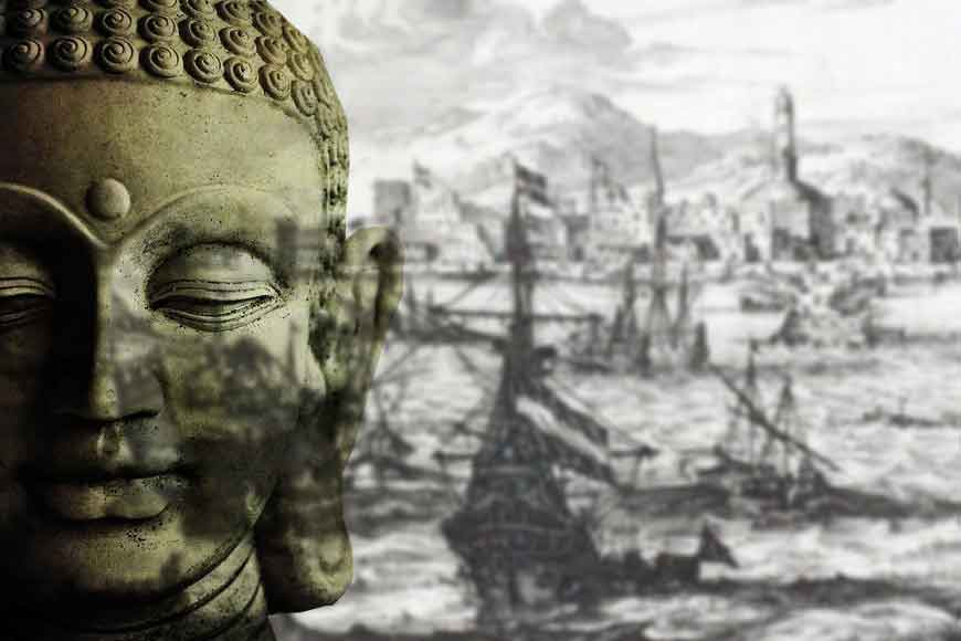Tamralipta port played a major role in spreading Buddhism