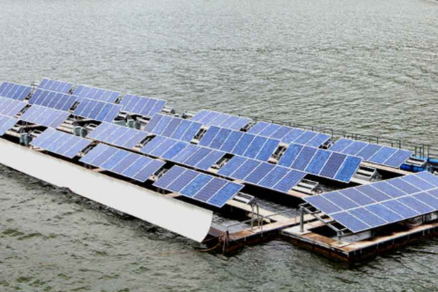 South Asia's biggest floating solar power plant in Bengal